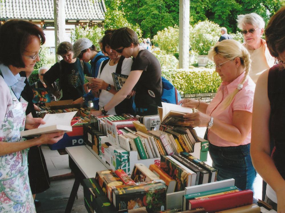 Kochbuch-Flohmarkt im Westfalenpark