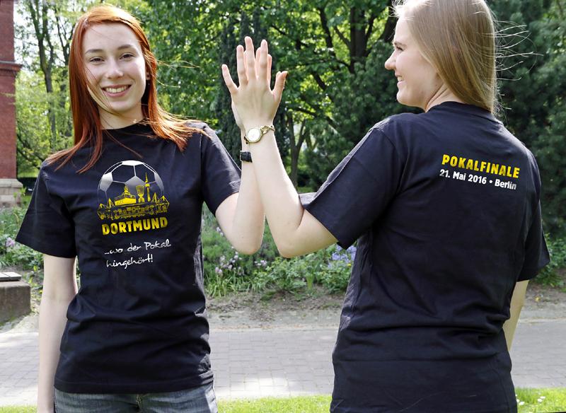 DFB-POKAL: Dortmund-Agentur verkauft Finale-Shirts