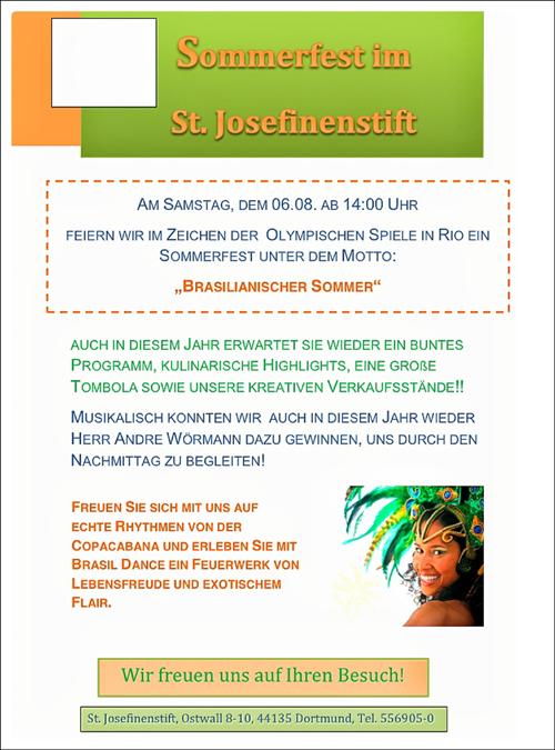 St. Josefinenstift feiert Sommerfest