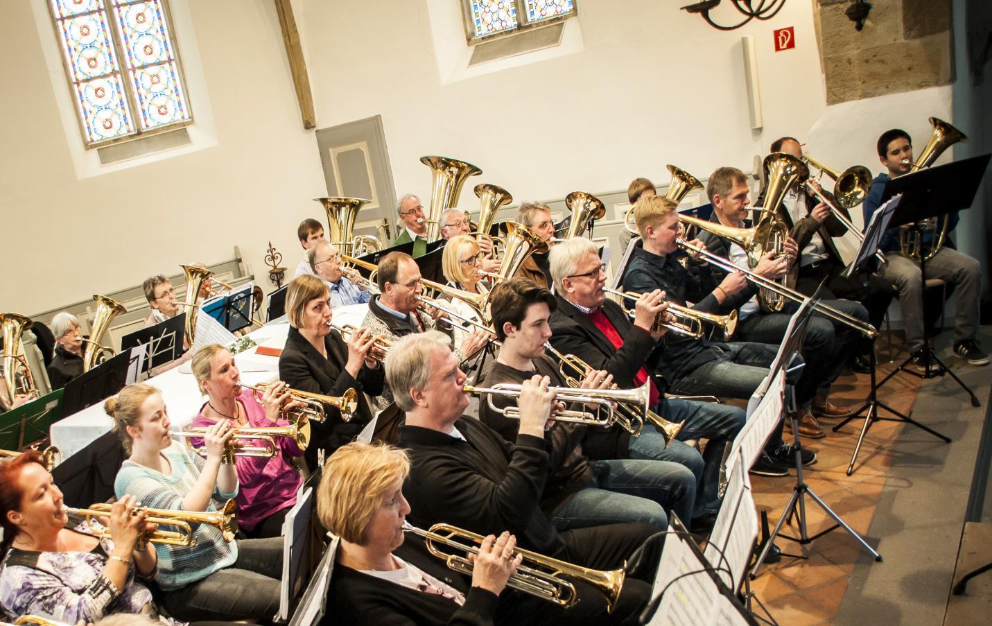 """Zwei Gottesdienste mit Posaunenchor und zum """"Tag des offenen Denkmals"""" in der Paul-Gerhardt-Kirche"""