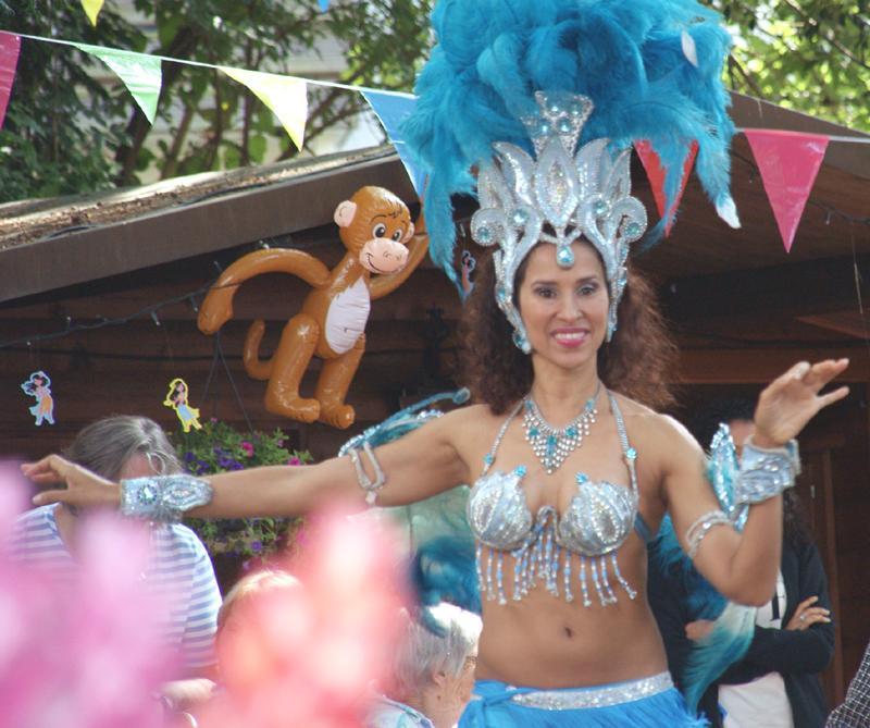 St. Josefinenstift feierte Sommerfest im Samba-Rhythmus