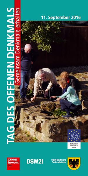 Veröffentlichung der Programmbroschüre zum Tag des offenen Denkmals 2016