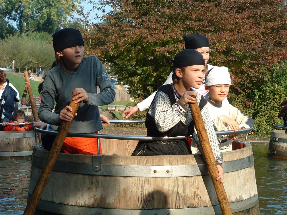 Die Piraten sind los! Herbstferien im Westfalenpark