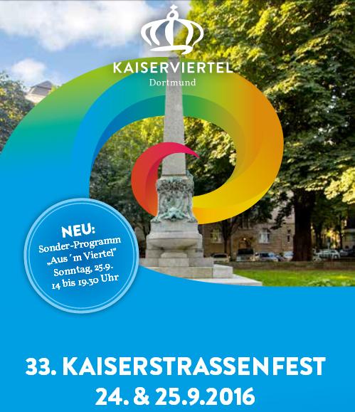 Kaiserstraßenfest am 24. und 25. September 2016