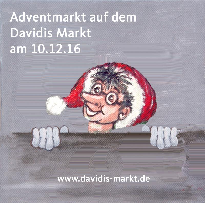 Adventmarkt auf dem Davidis Markt