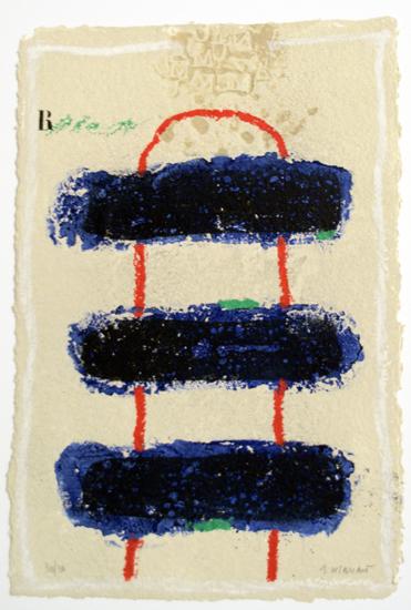 James Coignard, 2004, Laison, WVZ 1160, 38 x 56 cm, 30/30 sign.