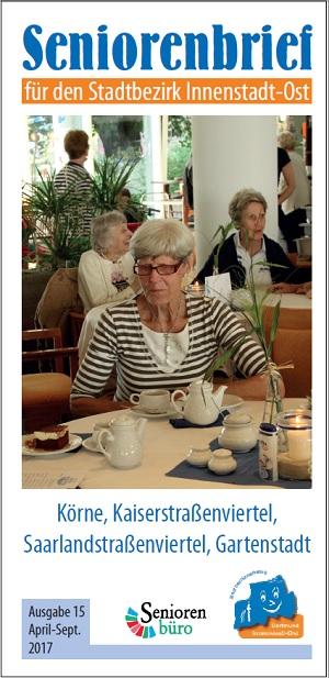 Seniorenbrief für die Innenstadt-Ost in der 15. Auflage