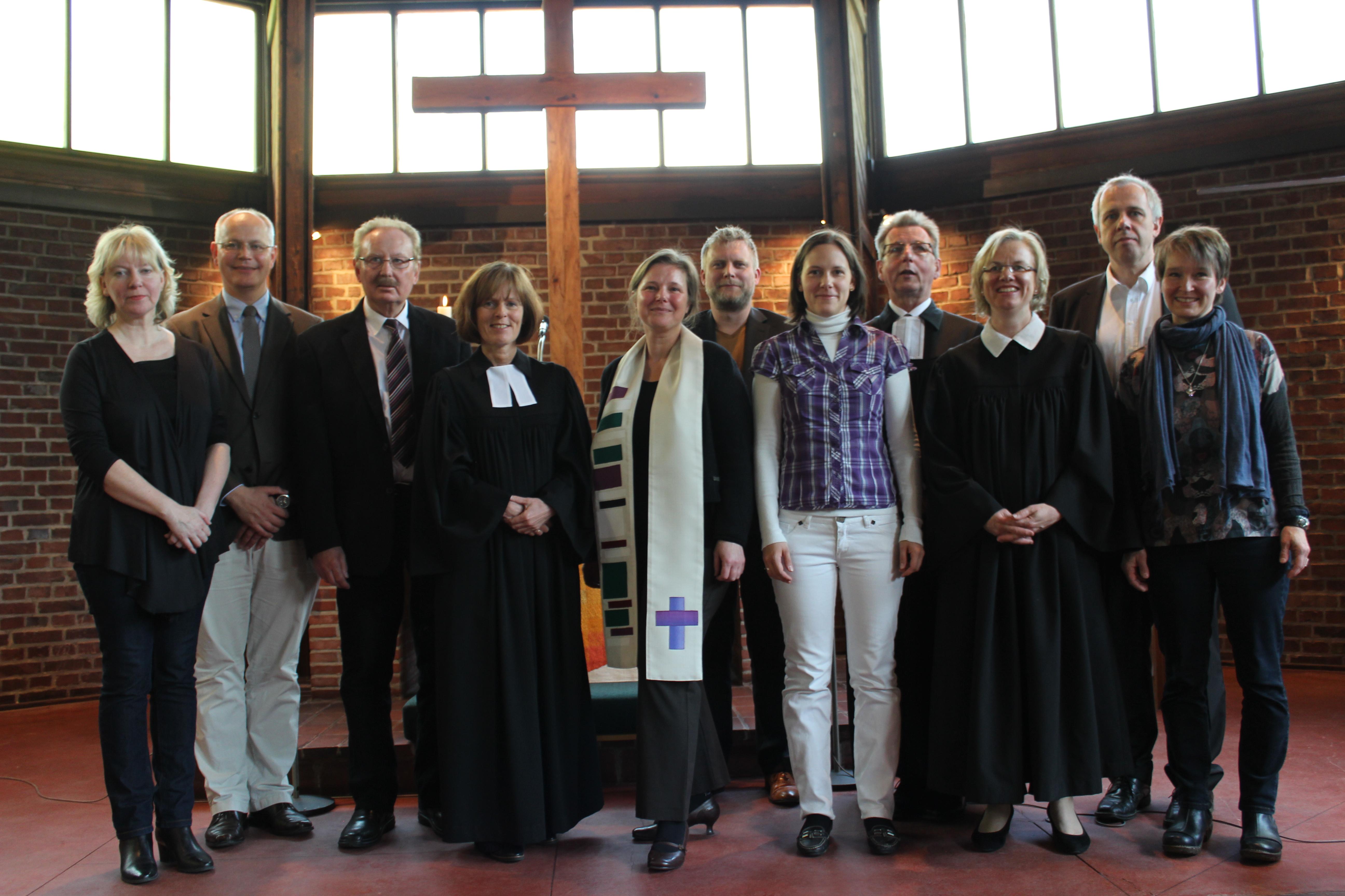 Paul-Gerhardt-Kirchengemeinde führt Natascha Luther in das Amt als Prädikantin ein