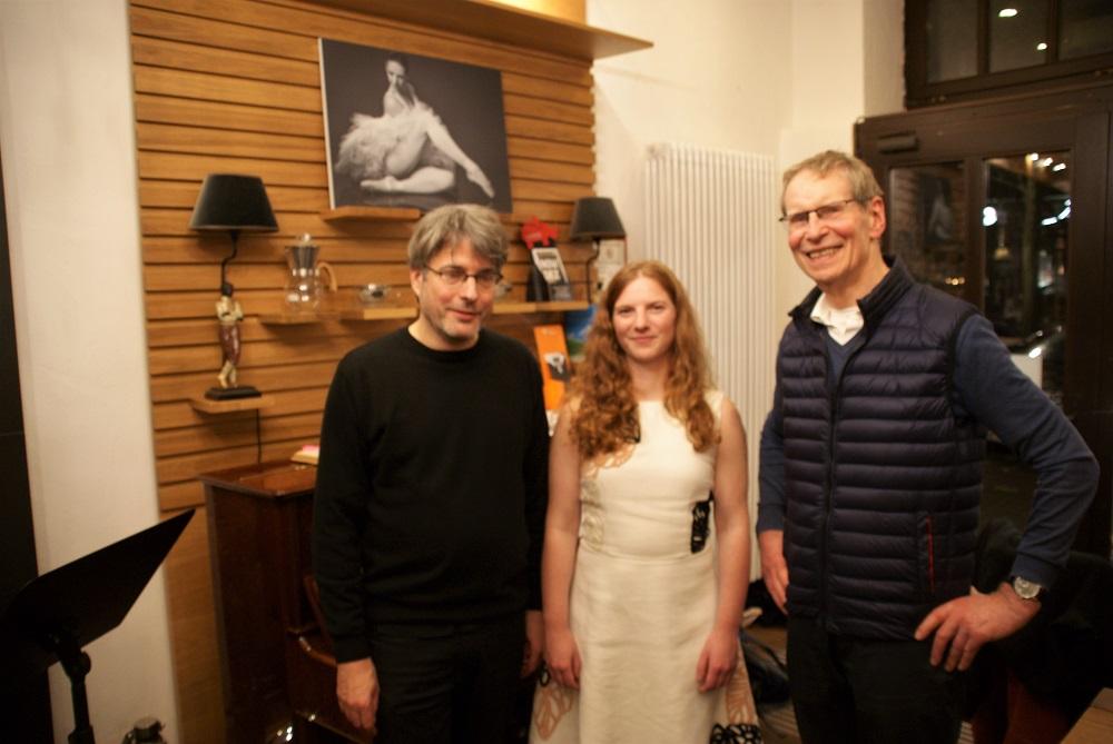 Konzert im Kaffee- und Teekontor Wigger mit Dita Kosmakova und Friedemann Dipper