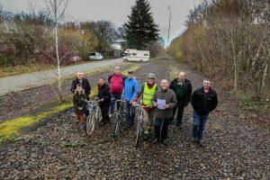 Die Freude über den Förderbescheid für den Gartenstadtradweg ist groß (Foto: privat)
