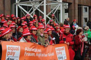 Der Equal Pay Day wendet sich gegen den Lohnunterschied zwischen Frauen und Männern
