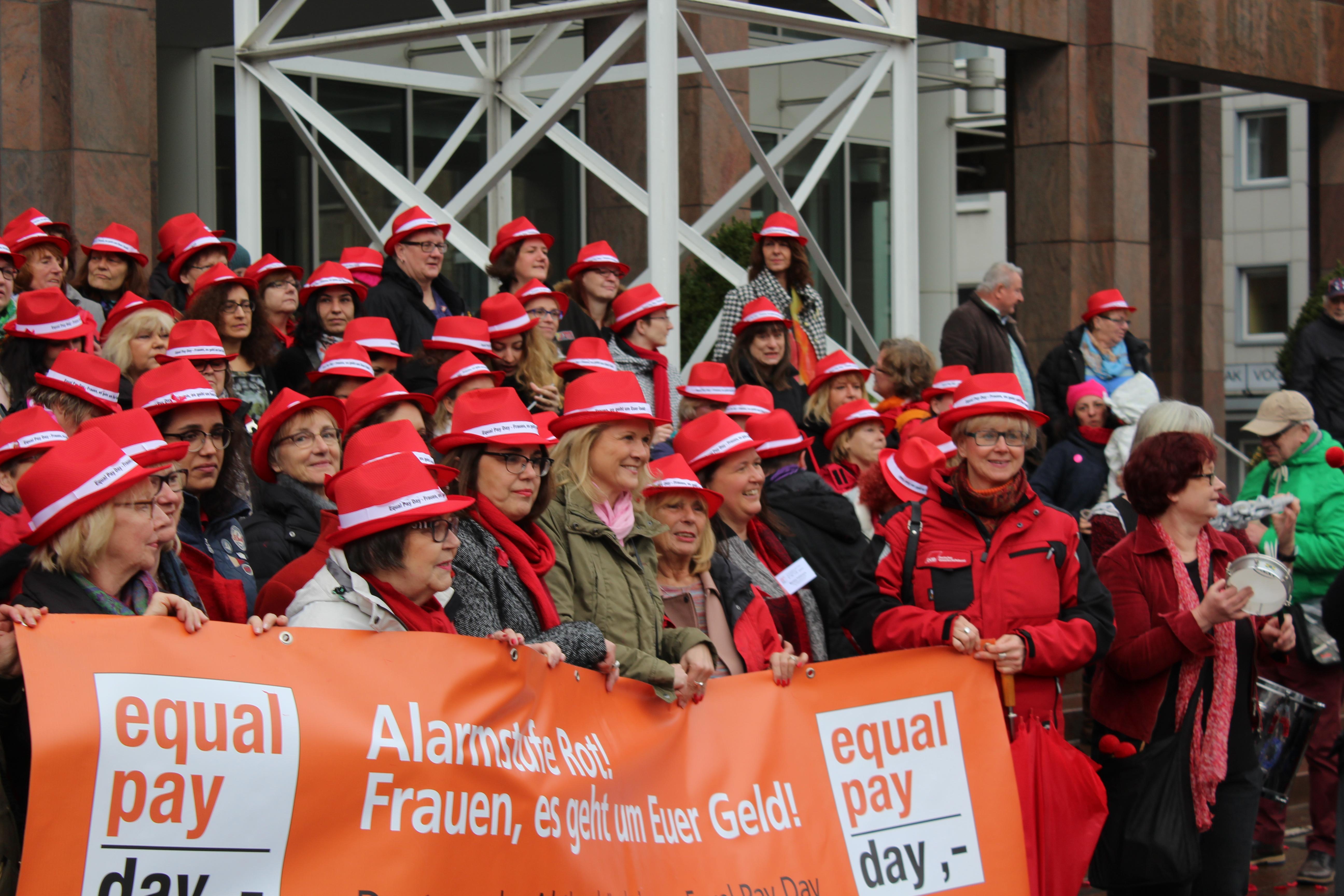 Raus aus der Rentenfalle – Aktionen zum Equal Pay Day