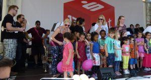 Auch die kleinen Gäste kommen bei dem beliebten Körner Familienfest auf ihre Kosten (Foto: privat)