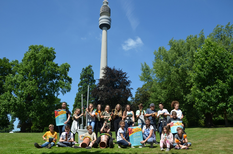Laute Töne, leise Klänge: Musikprojektwoche im Westfalenpark