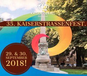 Wie in jedem Jahr steigt auch 2018 wieder das beliebte Kaiserstraßenfest am letzten Wochenende im September. (Bild: Werbegemeinschaft Kaiserstraße)