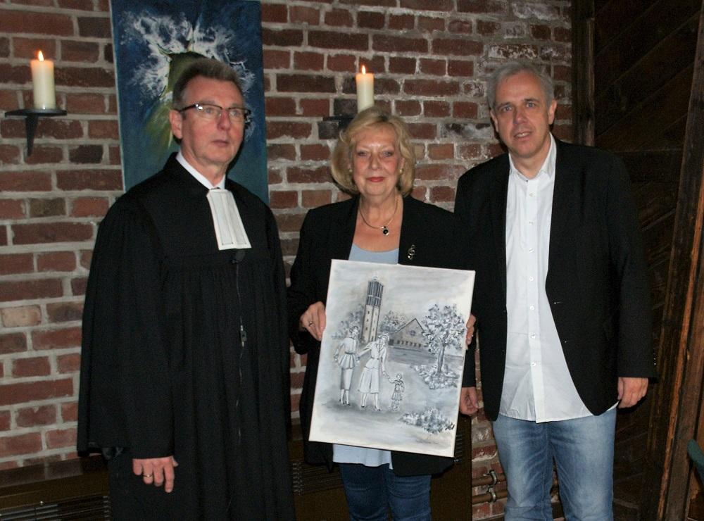 """Ausstellung """"Glaube, Liebe, Hoffnung"""" in der Paul-Gerhardt-Kirche"""