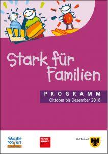 Das Programmheft des Familien-Projektes