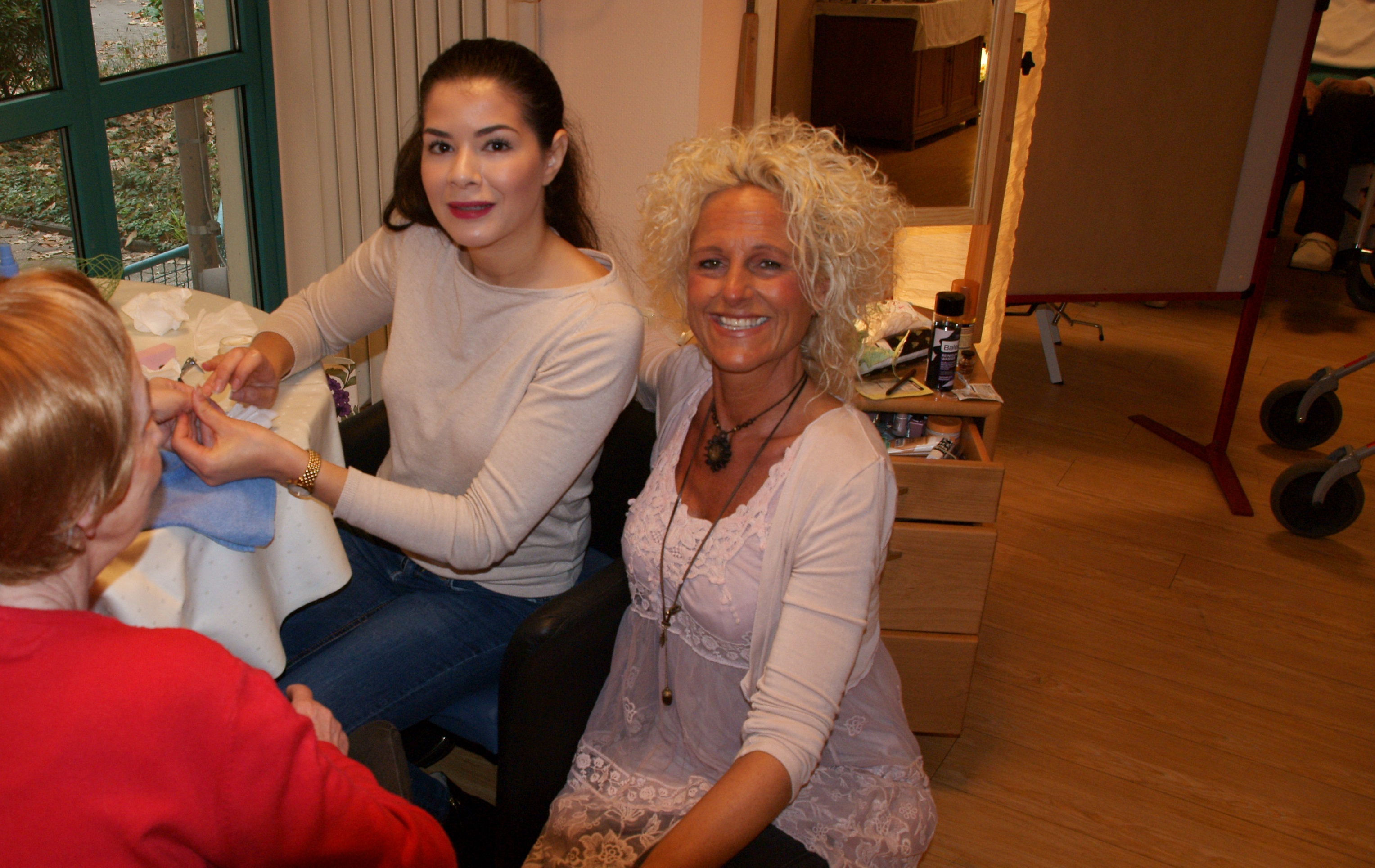 Parfümerie Wigger zu Gast beim Wellnesstag im St. Josefinenstift