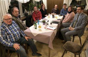 SPD diskutiert: Gemeinsam fordern die Gesprächsteilnehmer eine Ausweitung der Radwegeverbindungen nicht nur am Hellweg. (Foto: SPD)
