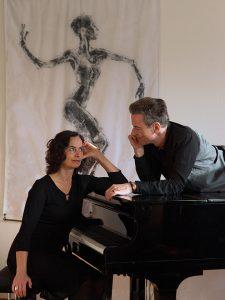 Das Klavier-Duo CordaMota: Petra Charlotte Bleser und Martin Pohl-Hesse