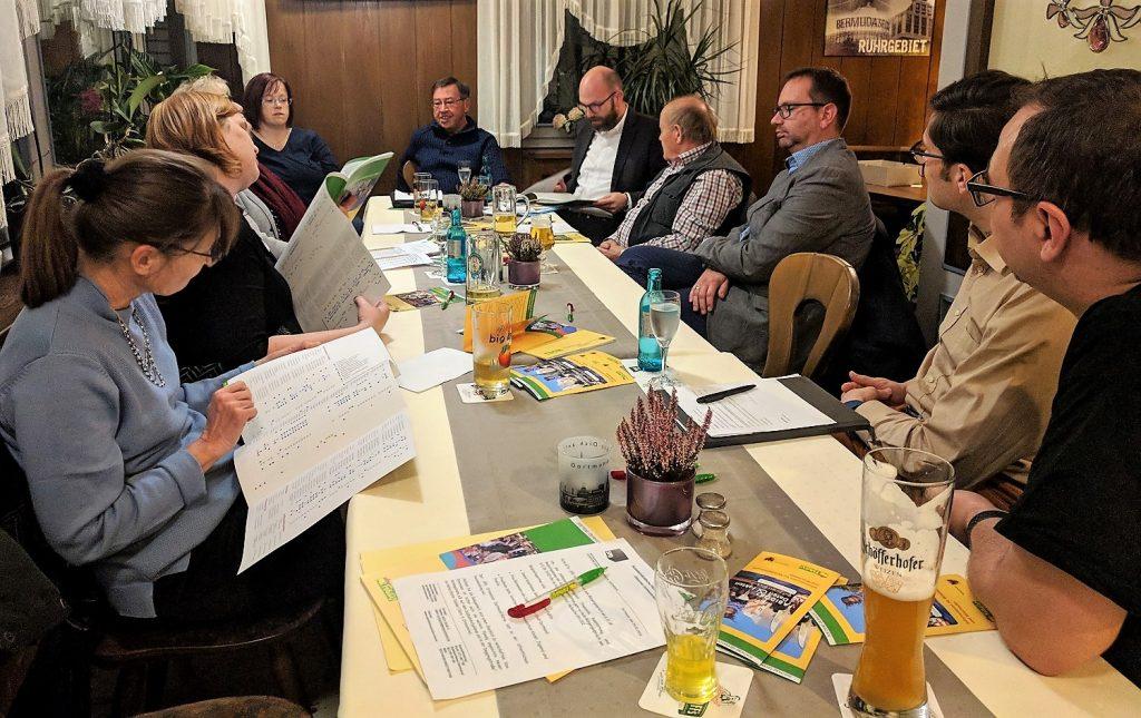 Die SPD Körne diskutierte über die Angebotssituation in Kindertagesstätten und in der Tagespflege.