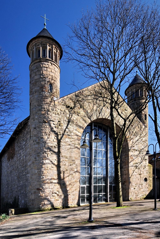 Denkmal des Monats Mai 2019: Schutz für den brennenden Dornbusch in der Kirche St. Bonifatius