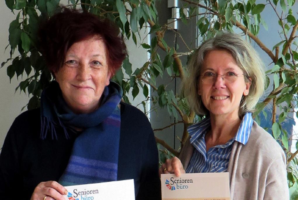 Dorothea Börner (l.) und Annette Simmgen-Schmude vom Seniorenbüro Innenstadt-Ost, Foto: Seniorenbüro