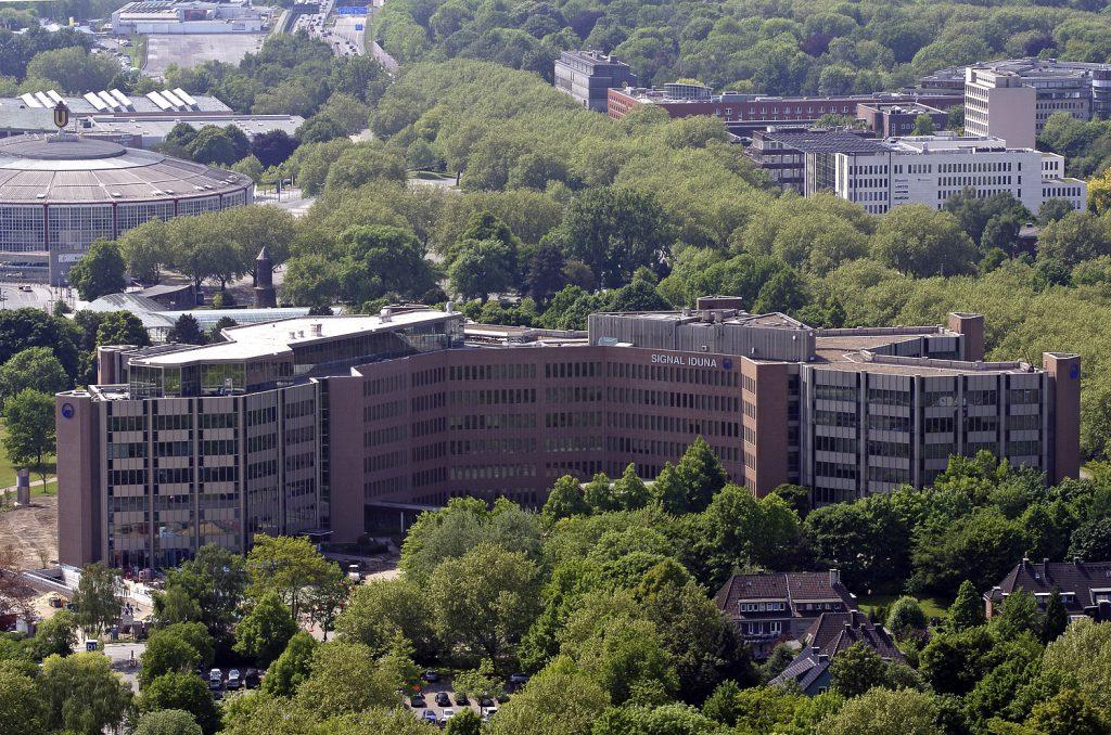 Hauptverwaltung der SIGNAL IDUNA Versicherung in Dortmund (Foto: SIGNAL IDUNA)