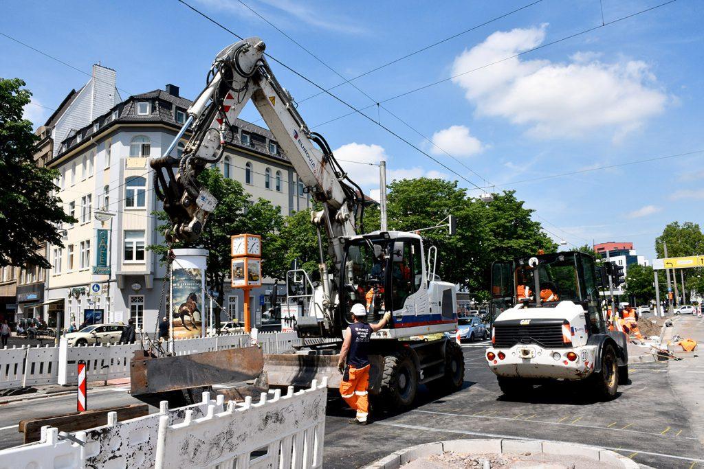 Die endgültige Freigabe des Ostwalls erfolgt direkt nach Beendigung des Kirchentages. (Foto: Torsten Tullius, Dortmund-Agentur)