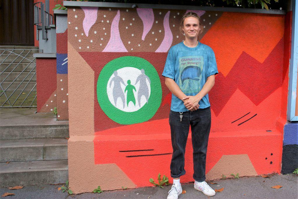 Der Graffiti-Künstler Max Rüther (Foto: Rüdiger Beck)