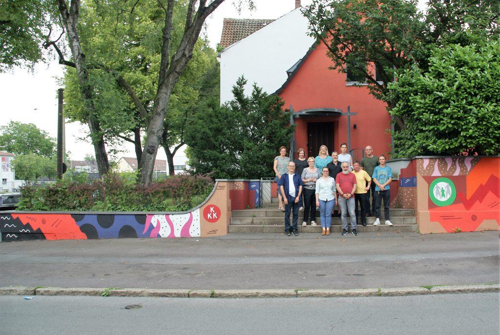 """Die thematische Vorgabe für die Graffiti-Kunst lautete: """"Respekt, Toleranz und Vielfalt"""" (Foto: Rüdiger Beck)."""