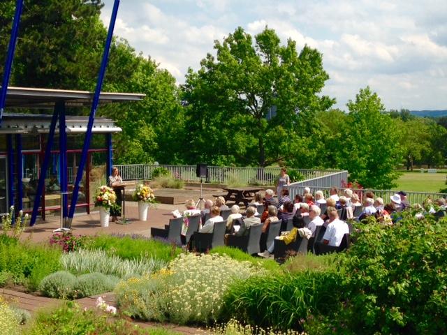 Festakt zum 50. Jubiläum des deutschen Rosariums. (Foto: Stadt Dortmund)