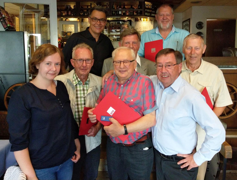 Jubilarehrung bei der SPD in Körne – Wir schaffen das moderne Deutschland