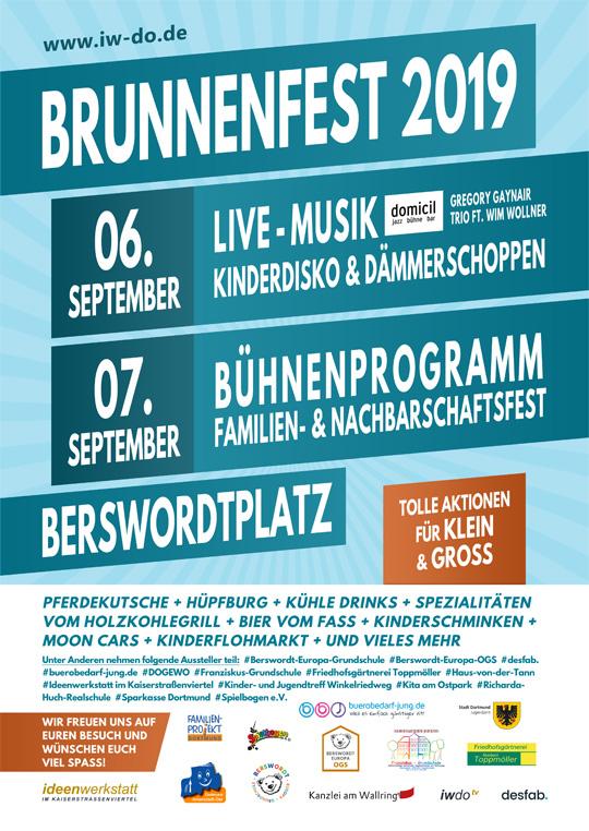 Anfang September startet das Brunnenfest