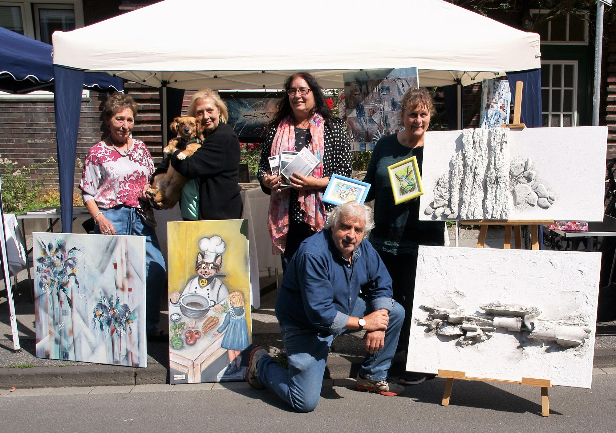 """""""Künstler am Davidis Markt"""" – im September zum letzten Mal in diesem Jahr"""