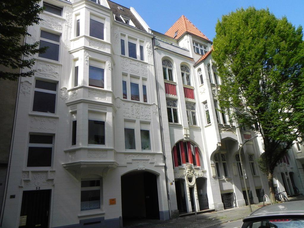 Fassade in der Lübecker Straße (Foto: Wolfgang Kienast)