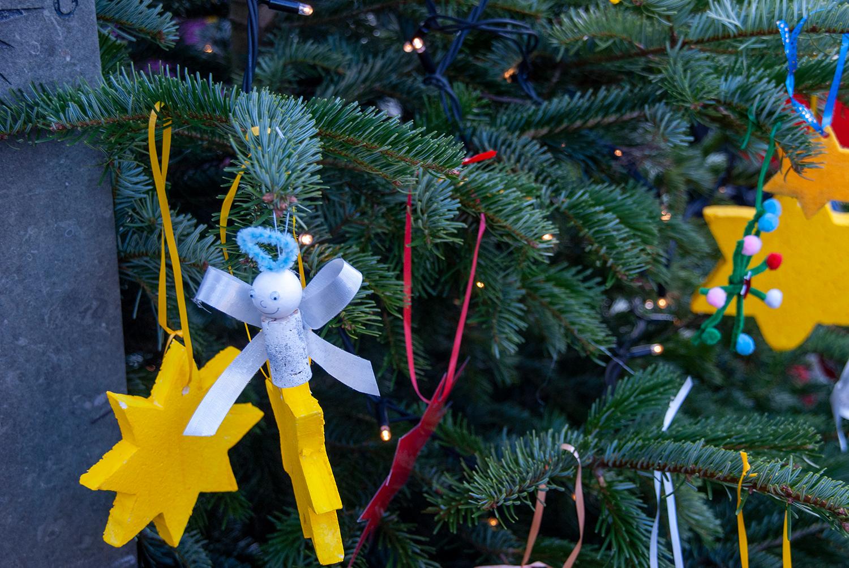 Weihnachtssingen und Baumschmücken in Körne am 30.11.19