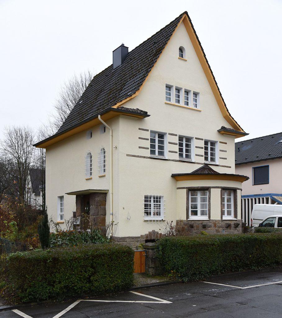 Einfamilienhaus Kortumweg 4 (Foto: Michael Holtkötter, Denkmalbehörde Dortmund)
