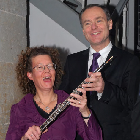 Ulrike Lausberg und Jean-Christophe Robert (Foto: Paul-Gerhardt-Kirchengemeinde)