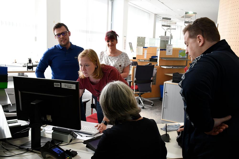 Für viele Leistungen werden digitale Lösungen geschaffen. Foto: Katharina Kavermann, Dortmund-Agentur