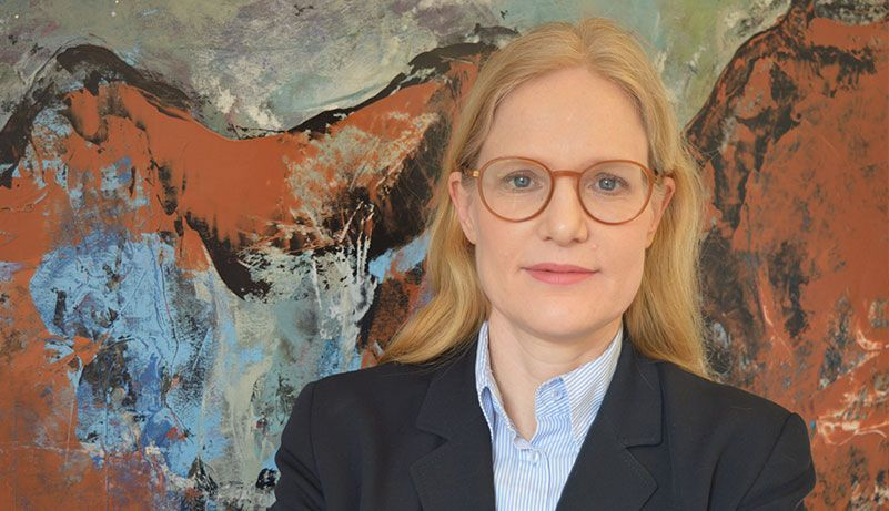 Rechtsanwältin Katharina Niemann ist mit ihrer Kanzlei in die Kaiserstraße 15 gezogen.